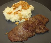 liver-mashed-potatoes