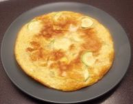 Courgette Omelette