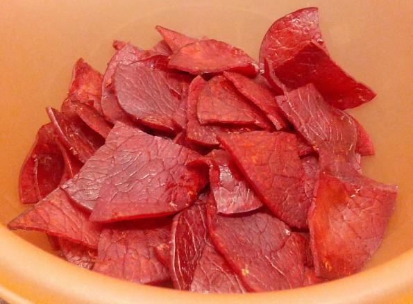 Homemade Ham Chips/Crisps