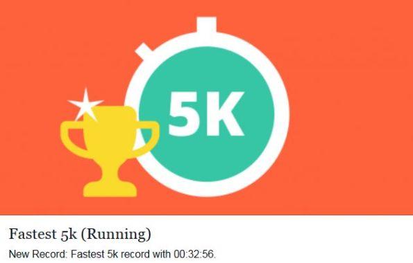 Running 5k Record